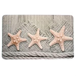"""Коврик для ванной """"Морские звезды"""" 75х45 см"""