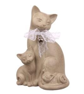 """Статуэтка """"Кошка с котятами"""""""
