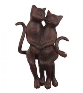 """Статуэтка """"Влюбленные кошки"""""""
