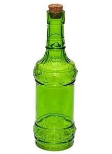 Бутылка стеклянная с крышкой