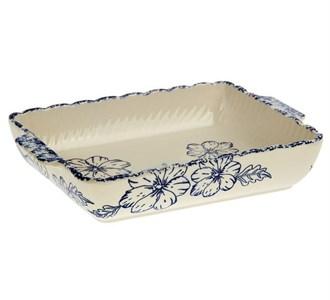 Блюдо для сервировки и запекания керамическое 27х18,7 см 1200 мл