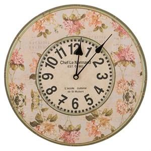 """Часы настенные """"Цветочный стиль"""""""