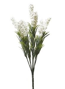 Цветы искусственные белые