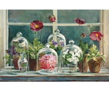 "Картина на хосте ""Цветочный натюрморт"" 40х60 см"