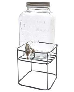 Емкость для напитков на подставке 4 литров