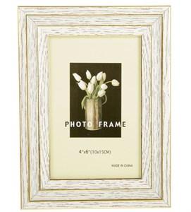Фоторамка белая для фотографии 10х15 см