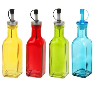Емкость для соуса и масла  200 мл, в ассортименте разные цвета