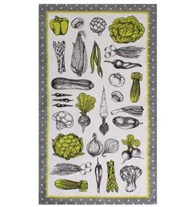 """Полотенце вафельное """"Овощи"""" 35х60 см"""