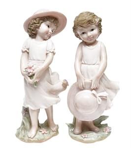 """Статуэтка """"Девочка в шляпе"""" в ассортименте две разные"""
