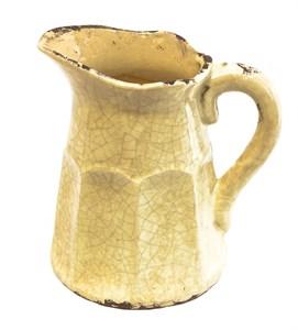 Кувшин керамический желтый