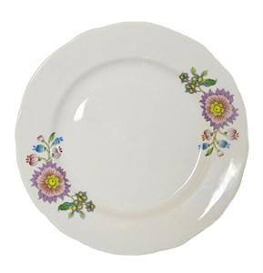 """Тарелка """"Цветочная лента"""" диаметр 20 см, в ассортименте разные рисунки"""