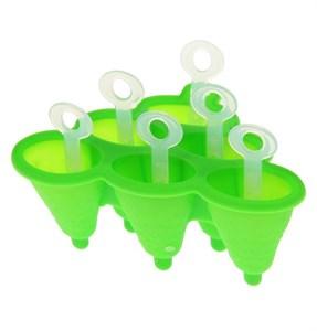 Форма для леденцов и мороженого на 6 ячеек, цвет в ассортименте