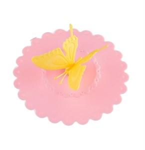 """Крышка силиконовая """"Бабочка"""" диаметр 10,5 см"""