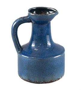 Кувшин керамический синий