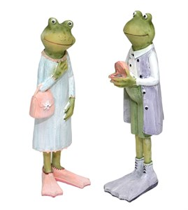 """Набор статуэток """"Влюбленные лягушата"""""""