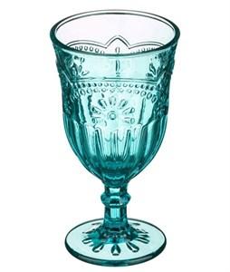 """Бокал """"Версаль"""" бирюзовый 300 мл из цветного стекла"""