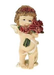 """Статуэтка """"Девочка-ангел с цветами"""""""