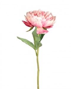 """Искусственный цветок """"Пион"""" высота 34 см"""