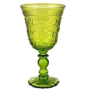 """Бокал """"Валенсия"""" зеленый 350 мл из цветного стекла"""