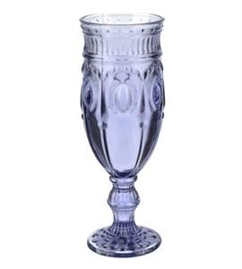 """Бокал """"Самоцвет"""" фиолетовый для шампанского из цветного стекла"""