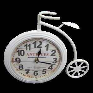 """Часы настольные """"Винтажный велосипед"""" 26х23 см"""
