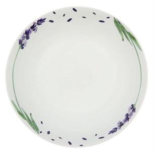 "Тарелка суповая ""Ветка лаванды"" диметр 20 см"