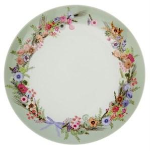 """Тарелка """"Цветочный букет"""" диаметр 25 см"""