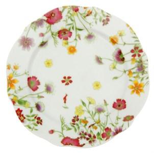 """Тарелка """"Полевые цветы"""" диаметр 20 см"""