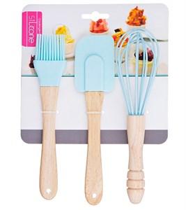 Набор кухонных принадлежностей голубой