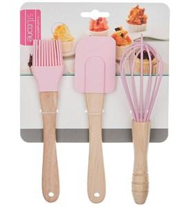 Набор кухонных принадлежностей розовый