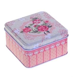 "Коробка большая ""Шебби. Розочки"" 10,5х5,5 см"