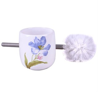 "Туалетная щетка ""Голубой цветок"""