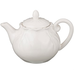 """Заварочный чайник """"Белый цветок"""" 1100 мл"""