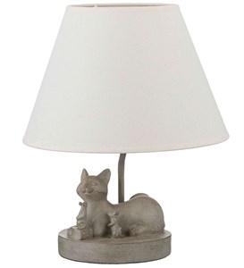 "Лампа настольная ""Кошка с мышами"""