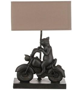 """Лампа настольная """"Кот на мотоцикле"""""""