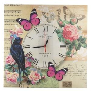 """Часы настенные """"Птица на ветке"""""""