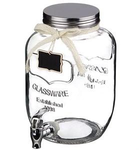 Емкость для напитков с краником на 5 литров