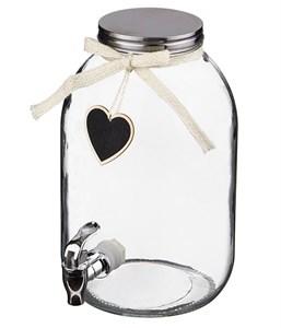 Лимонадник для напитков с краником на 5 литров