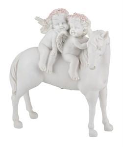 """Статуэтка """"Ангелы на лошади"""""""