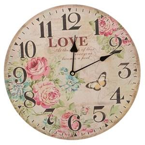 """Часы настенные """"Любовь. Цветы"""""""