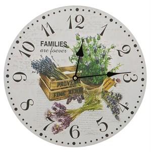 """Часы настенные """"Запах лаванды"""""""