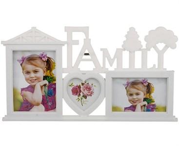 """Фоторамка """"Семья"""" на три фотографии 19х12 см, 9х8 см, 15х10 см"""