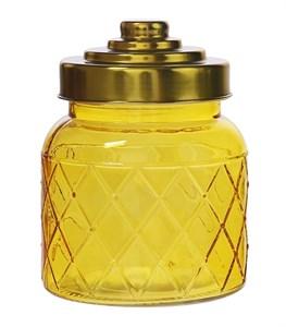 Емкость для хранения желтая 600 мл
