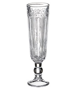 """Бокал для шампанского """"Цветы"""" 130 мл"""