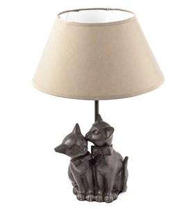 "Лампа настольная ""Две кошки"""
