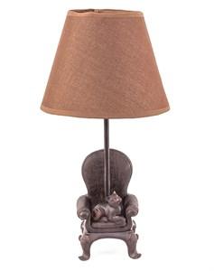 """Лампа настольная """"Кот в кресле"""""""