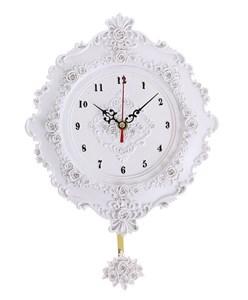 """Часы настенные с маятником """"Розочки"""""""