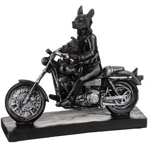 """Статуэтка """"Две собаки на мотоцикле"""""""