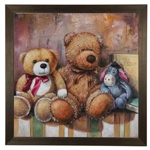 """Картина в раме """"Три друга"""""""