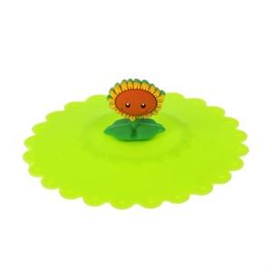 """Крышка силиконовая """"Цветочек"""" диаметр 11 см в ассортименте"""